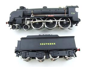 "ACE Trains O Gauge E/34-D1 Bulleid SR Wartime Satin Black 4-6-0 ""Excalibur"" 736 Elec 2/3 Rail image 7"
