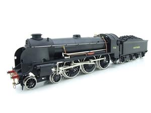 "ACE Trains O Gauge E/34-D1 Bulleid SR Wartime Satin Black 4-6-0 ""Excalibur"" 736 Elec 2/3 Rail image 8"