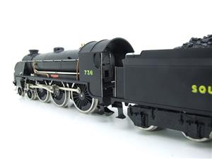 "ACE Trains O Gauge E/34-D1 Bulleid SR Wartime Satin Black 4-6-0 ""Excalibur"" 736 Elec 2/3 Rail image 9"