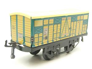 "Hornby Hachette Series French O Gauge No.4 ""ETAT"" Bestiaux Cattle Wagon NEW Pack image 2"