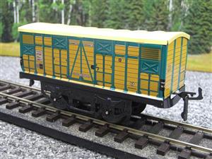 "Hornby Hachette Series French O Gauge No.4 ""ETAT"" Bestiaux Cattle Wagon NEW Pack image 3"