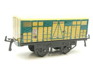 "Hornby Hachette Series French O Gauge No.4 ""ETAT"" Bestiaux Cattle Wagon NEW Pack image 4"