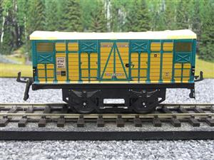 "Hornby Hachette Series French O Gauge No.4 ""ETAT"" Bestiaux Cattle Wagon NEW Pack image 5"