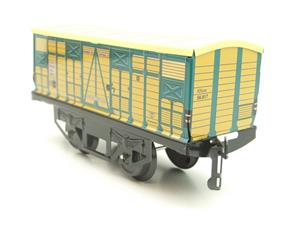 "Hornby Hachette Series French O Gauge No.4 ""ETAT"" Bestiaux Cattle Wagon NEW Pack image 6"