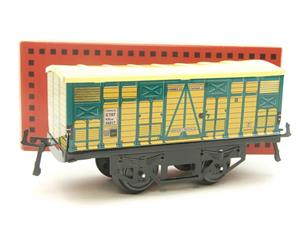 "Hornby Hachette Series French O Gauge No.4 ""ETAT"" Bestiaux Cattle Wagon NEW Pack image 10"