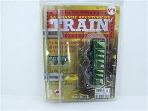 "Hornby Hachette Series French O Gauge No.5 Green 20 Ton ""Open Mineral"" Wagon NEW Pack image 1"