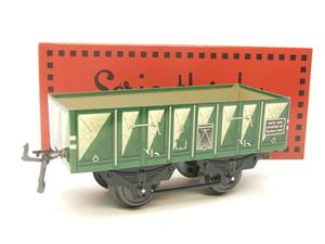 "Hornby Hachette Series French O Gauge No.5 Green 20 Ton ""Open Mineral"" Wagon NEW Pack image 10"