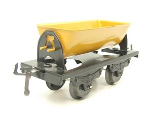 "Hornby Hachette Series French O Gauge No.14 ""Yellow Side Tipping"" Wagon NEW Pack image 2"