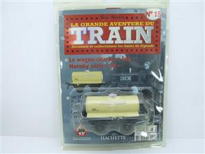 "Hornby Hachette Series French O Gauge No.15 Nord ""Laiterie Moderne"" White Tanker Wagon NEW Pack image 1"