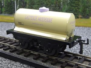 "Hornby Hachette Series French O Gauge No.15 Nord ""Laiterie Moderne"" White Tanker Wagon NEW Pack image 3"