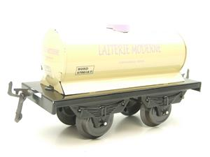 "Hornby Hachette Series French O Gauge No.15 Nord ""Laiterie Moderne"" White Tanker Wagon NEW Pack image 4"