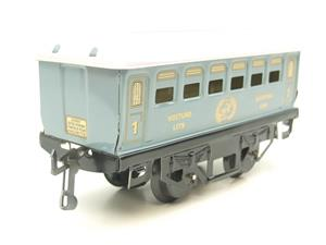 Hornby Hachette Series French O Gauge No.60 L/Blue 'Voiture Lits 1st Class 'Sleeping Car' Coach NEW image 2