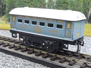 Hornby Hachette Series French O Gauge No.60 L/Blue 'Voiture Lits 1st Class 'Sleeping Car' Coach NEW image 3
