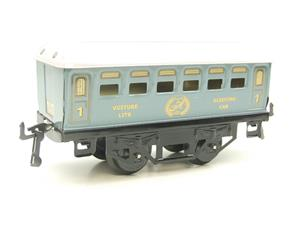 Hornby Hachette Series French O Gauge No.60 L/Blue 'Voiture Lits 1st Class 'Sleeping Car' Coach NEW image 4