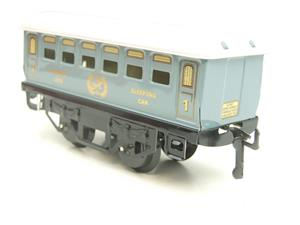 Hornby Hachette Series French O Gauge No.60 L/Blue 'Voiture Lits 1st Class 'Sleeping Car' Coach NEW image 6