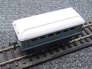 Hornby Hachette Series French O Gauge No.60 L/Blue 'Voiture Lits 1st Class 'Sleeping Car' Coach NEW image 7