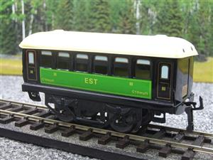 "Hornby Hachette Series French O Gauge No.23 Green & Black ""EST 3rd Class Passenger Coach NEW Pack image 3"