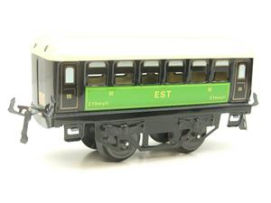 "Hornby Hachette Series French O Gauge No.23 Green & Black ""EST 3rd Class Passenger Coach NEW Pack image 4"
