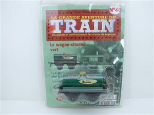 "Hornby Hachette Series French O Gauge No.40 ""MOTOROL"" Green Tanker Wagon NEW Pack image 1"