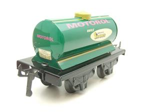 "Hornby Hachette Series French O Gauge No.40 ""MOTOROL"" Green Tanker Wagon NEW Pack image 2"