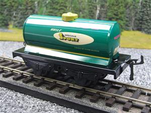 "Hornby Hachette Series French O Gauge No.40 ""MOTOROL"" Green Tanker Wagon NEW Pack image 3"