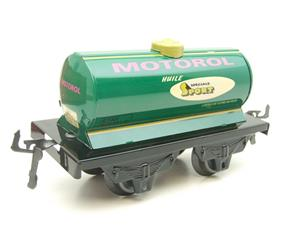 "Hornby Hachette Series French O Gauge No.40 ""MOTOROL"" Green Tanker Wagon NEW Pack image 4"