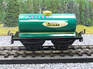 "Hornby Hachette Series French O Gauge No.40 ""MOTOROL"" Green Tanker Wagon NEW Pack image 5"