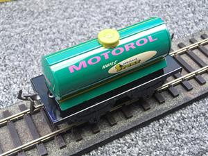 "Hornby Hachette Series French O Gauge No.40 ""MOTOROL"" Green Tanker Wagon NEW Pack image 7"
