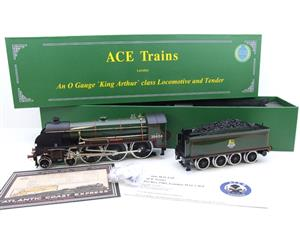 "ACE Trains O Gauge E/34-E2 BR Pre 56 Gloss Lined Green 4-6-0 ""Queen Guinevere"" 30454 Elec 2/3 Rail image 2"