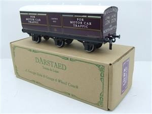 Darstaed O Gauge LNWR Six Wheel Motor Car Van R/N 603 Boxed 2/3 Rail Running image 3