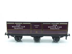 Darstaed O Gauge LNWR Six Wheel Motor Car Van R/N 603 Boxed 2/3 Rail Running image 5
