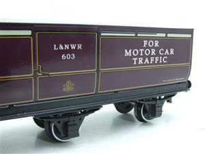 Darstaed O Gauge LNWR Six Wheel Motor Car Van R/N 603 Boxed 2/3 Rail Running image 6