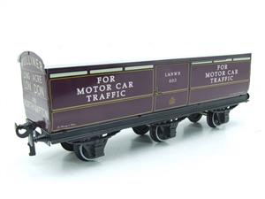 Darstaed O Gauge LNWR Six Wheel Motor Car Van R/N 603 Boxed 2/3 Rail Running image 8