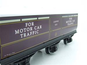 Darstaed O Gauge LNWR Six Wheel Motor Car Van R/N 603 Boxed 2/3 Rail Running image 10