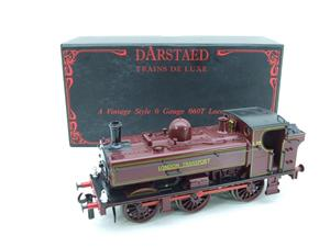 "Darstaed O Gauge LT ""London Transport"" Pannier Tank Loco L.93 Electric 3 Rail Boxed image 3"