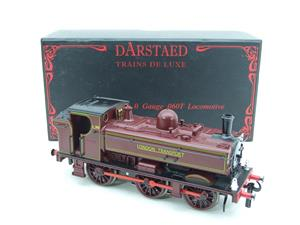 "Darstaed O Gauge LT ""London Transport"" Pannier Tank Loco L.99 Electric 3 Rail Boxed image 2"