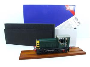 "HelJan O Gauge 25911 Class 05 BR Green With ""Wasp"" Stripes"" Diesel Shunter Loco Electric 2 Rail Bxd image 1"