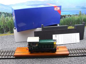 "HelJan O Gauge 25911 Class 05 BR Green With ""Wasp"" Stripes"" Diesel Shunter Loco Electric 2 Rail Bxd image 2"