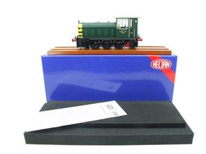 "HelJan O Gauge 25911 Class 05 BR Green With ""Wasp"" Stripes"" Diesel Shunter Loco Electric 2 Rail Bxd image 3"