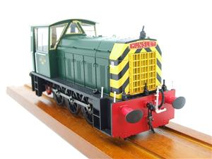 "HelJan O Gauge 25911 Class 05 BR Green With ""Wasp"" Stripes"" Diesel Shunter Loco Electric 2 Rail Bxd image 6"
