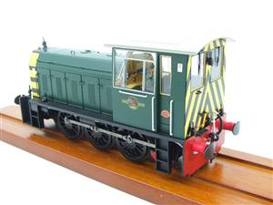 "HelJan O Gauge 25911 Class 05 BR Green With ""Wasp"" Stripes"" Diesel Shunter Loco Electric 2 Rail Bxd image 7"