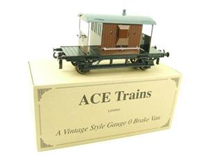 Ace Trains O Gauge G4 Vintage Style Brake Van With Lighting Boxed image 3