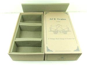 Ace Trains O Gauge Empty Tanker Wagon Set Box New x3 Storage Box image 1