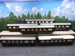 "Darstaed O Gauge ""Brighton Belle"" x6 Pullman Coaches Set Electric 3 Rail  Boxed"