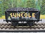 "Ace Trains O Gauge G/5-WS Private Owner ""Suncole"" No.5062 Coal Wagon 2/3 Rail"