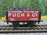 "Ace Trains O Gauge G/5 WS Private Owner ""Pugh & Co"" No.380 Coal Wagon 2/3 Rail"