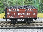 "Ace Trains O Gauge G/5 Private Owner ""Wigan Coal & Iron Co"" A147 Coal Wagon 2/3 Rail"