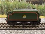 "Ace Trains O Gauge E/18-TD1 ""BR"" Early Logo"" Gloss Lined Green Early Logo Riveted Tender Brand NEW"
